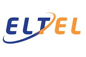 Eltel logo, gradient, RGB